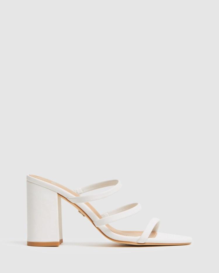 Novo Mood Heels White