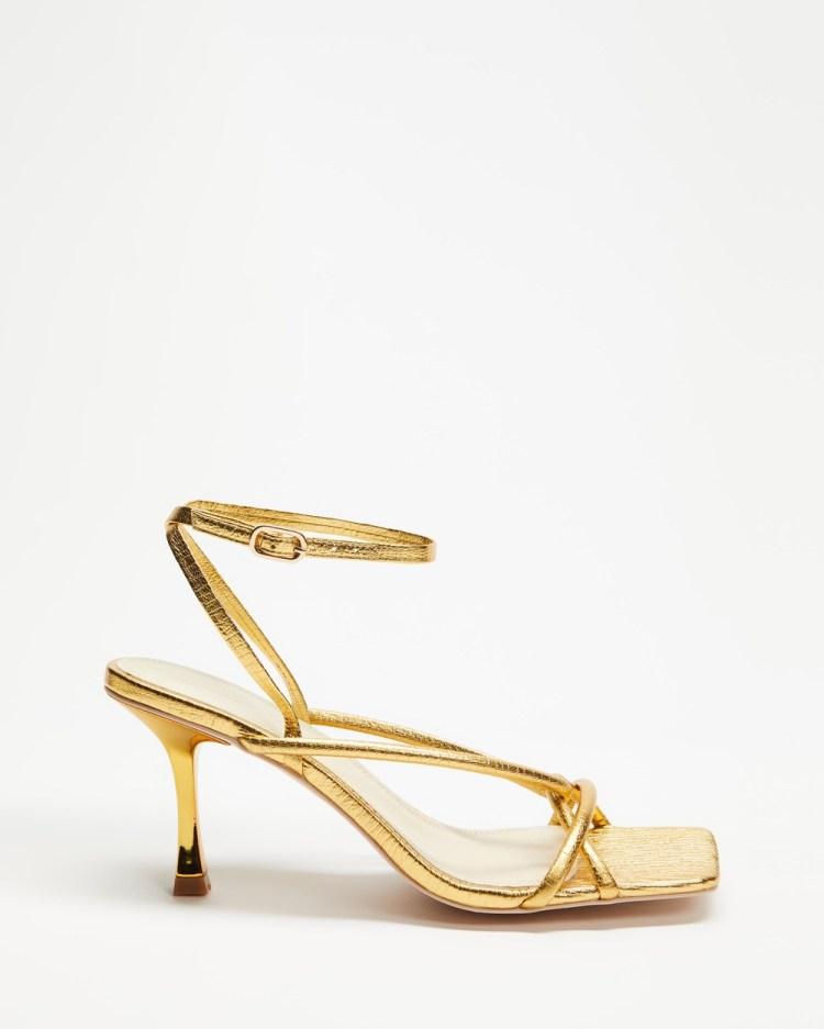 Manning Cartell Set the Tone Heels Sandals Gold