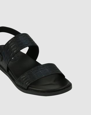 Los Cabos Roena Sandals Black