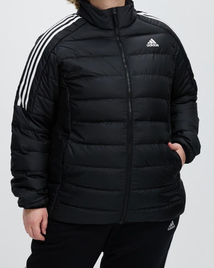 adidas Performance Essentials Light Down Jacket Coats & Jackets Black