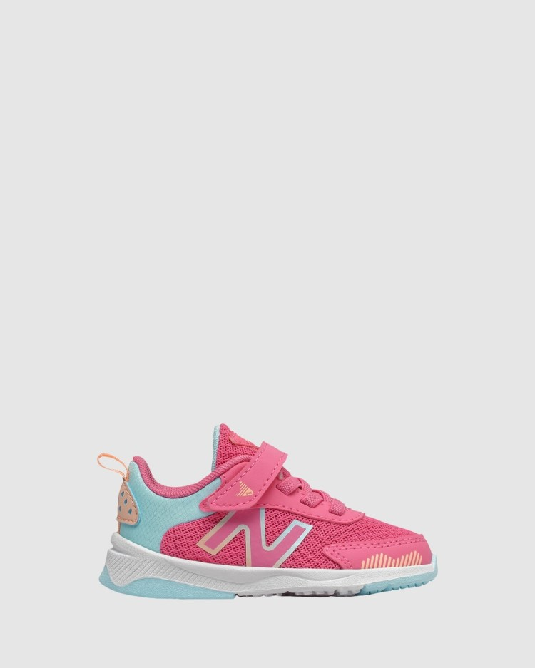New Balance 545 Self Fastening Strap Infant Lifestyle Shoes Pink/Turquoise Self-Fastening
