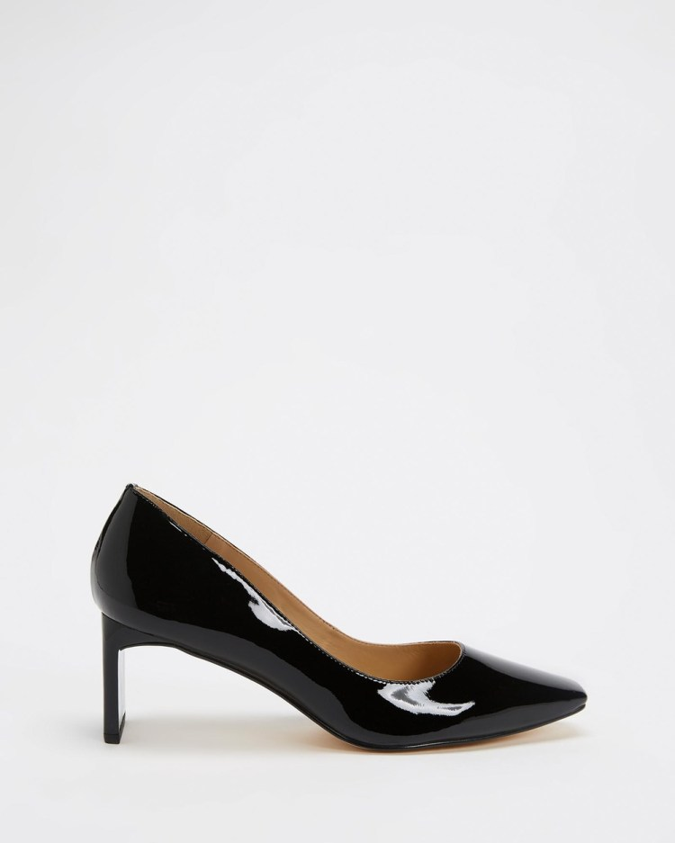 Nina Armando Sylvia Mid-low heels Black Patent