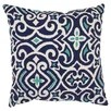 Damask Floor Throw Pillow