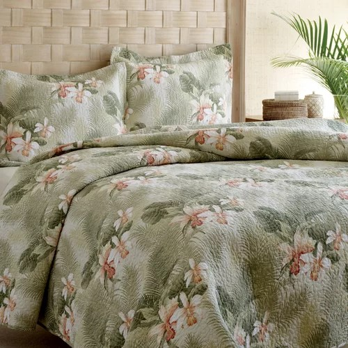 Tommy Bahama Bedding Tropical Orchid Quilt Set Amp Reviews