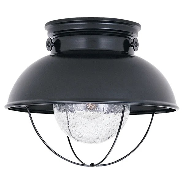 Sebring 1 Light Outdoor Flush Mount