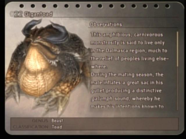 Bestiary Final Fantasy XII Final Fantasy Wiki Wikia