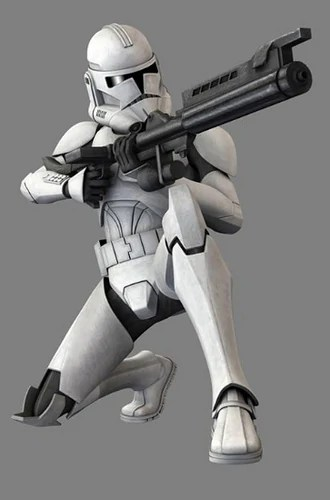 Star Wars Clone Troopers Phase 2 Transportation