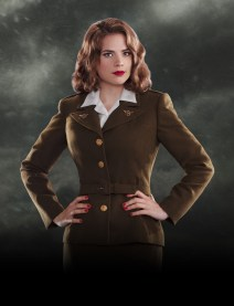"Haley Atwell as Agent Margaret ""Peggy"" Carater"
