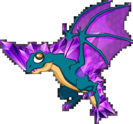 Amethyst Dragon DragonVale Wiki