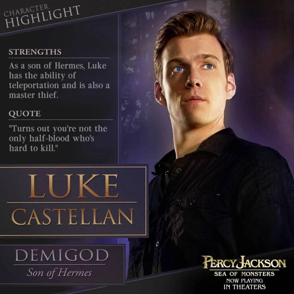Percy Jackson Luke Castellan