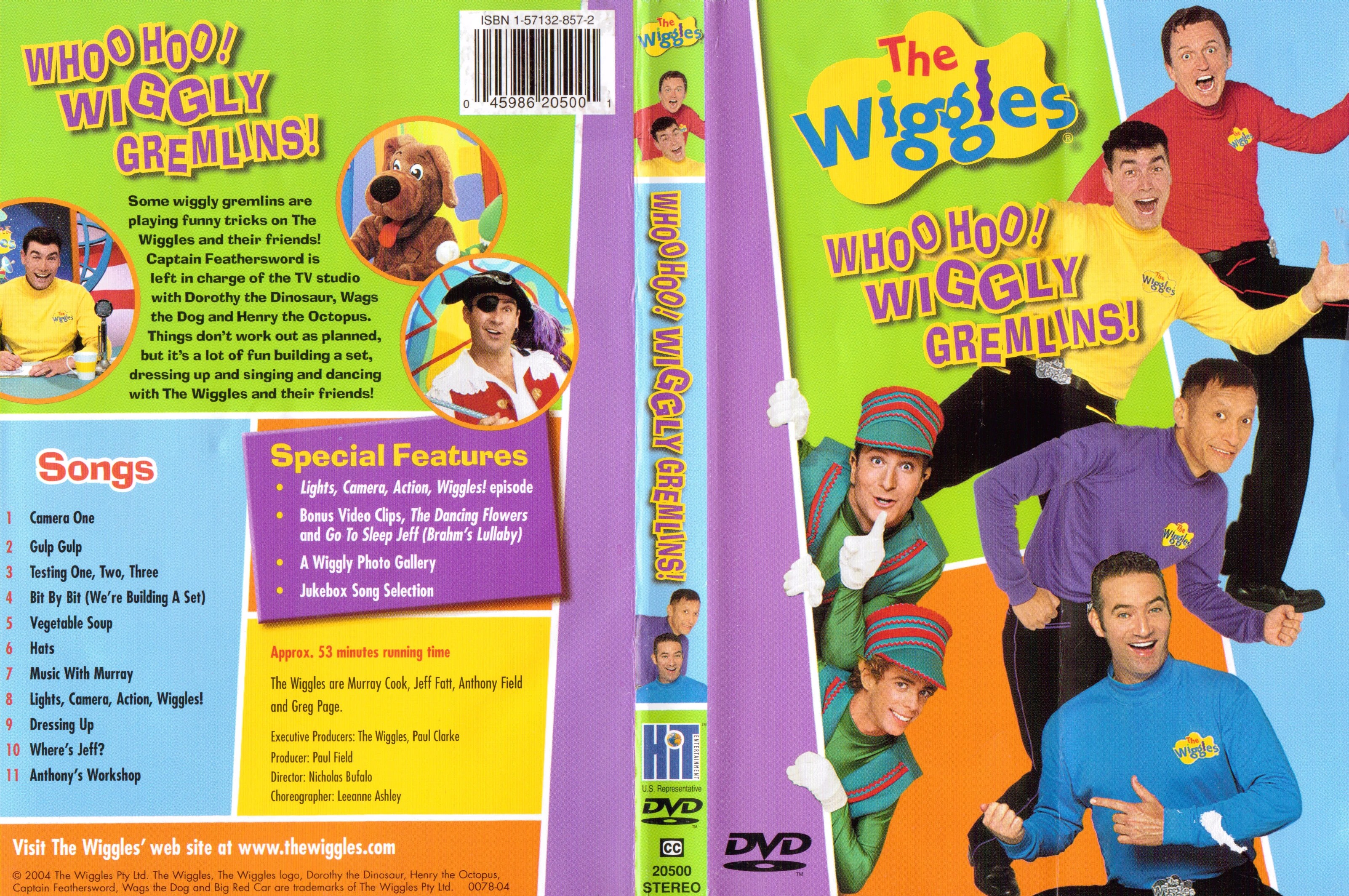 The Wiggles Wiggly Playtime Dvd
