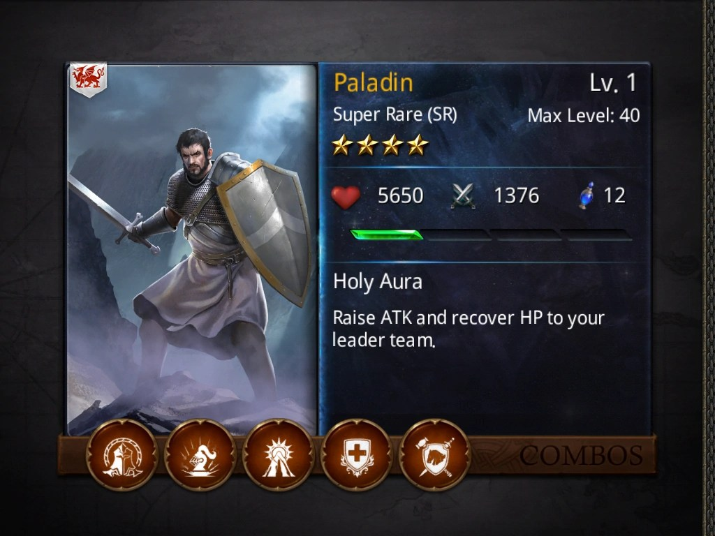 Paladin Heroes Of Camelot Wiki