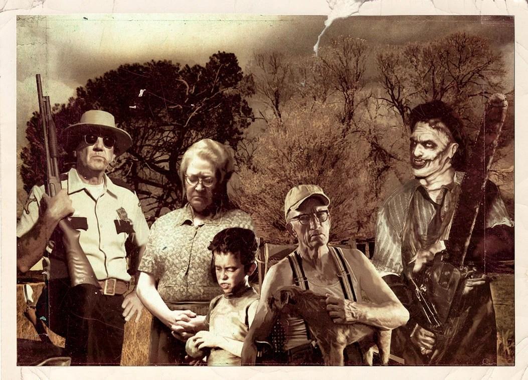 Afbeeldingsresultaat voor texas chainsaw massacre hewitt family