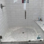 Carrara Marble Tile Discoloration On Shower Floors