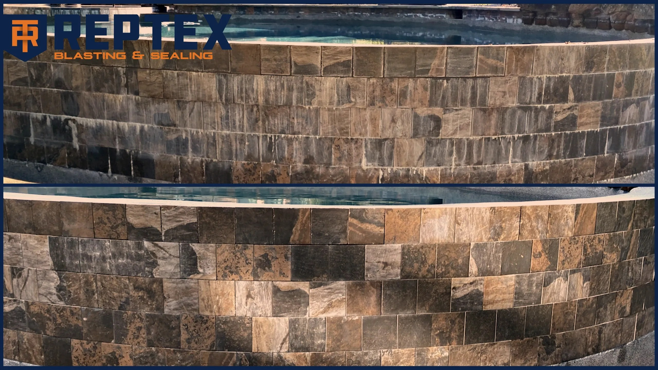 pool tile cleaning reptex sealing