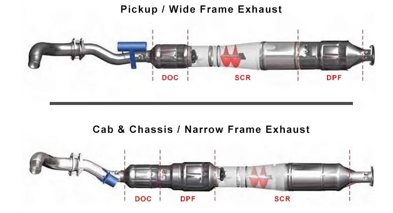 ford 6 7l dpf replacement