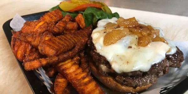 Fresh Order Salmon Burger