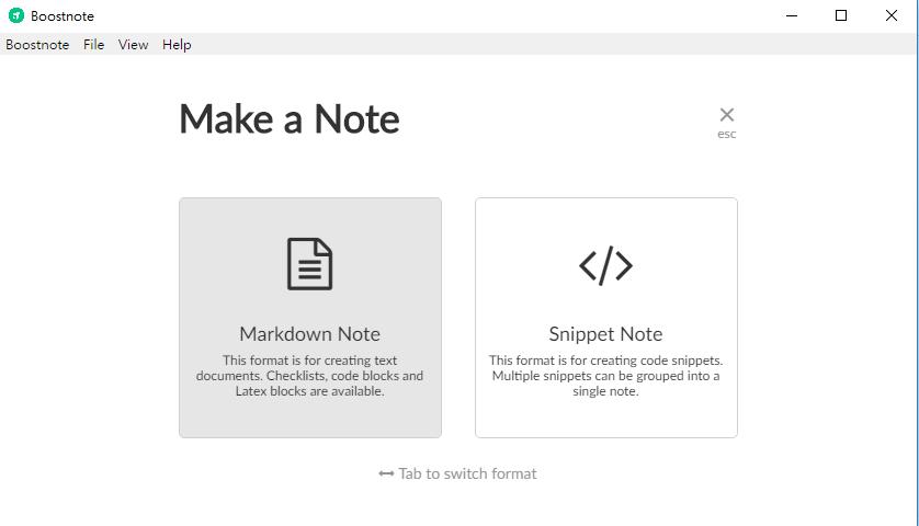 [推薦] 使用Markdown做筆記的好工具-Boostnote   辛比誌
