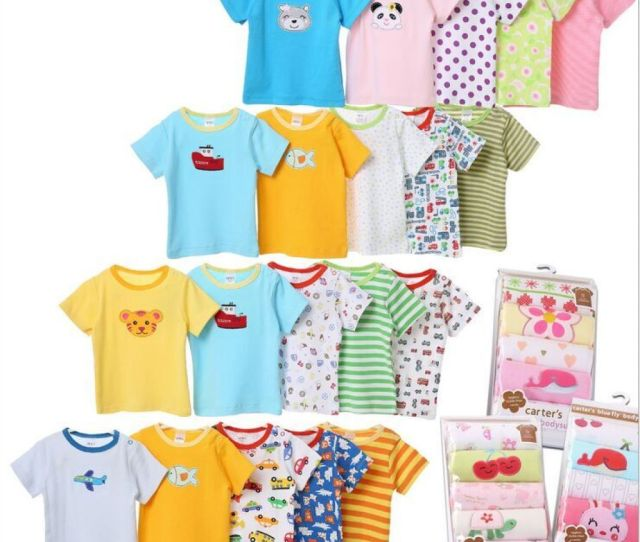 Summer Carter T Shirt Carters Cotton Baby Kids Infant Baby Dress Baby Clothes