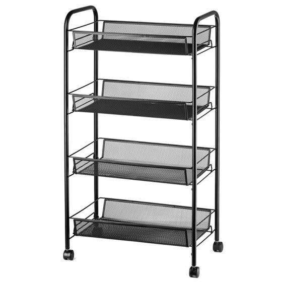 shop 4 tier organizer metal rolling