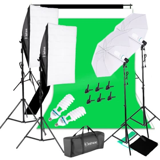shop photo video studio photography continuous lighting kit muslin backdrop stand set online from best camera accessories on jd com global site joybuy com