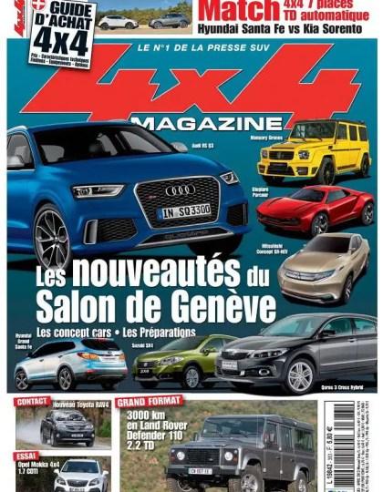 4x4 Magazine N°383 Avril 2013