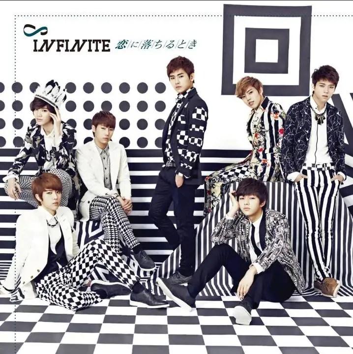 [Album] Infinite - Koi ni Ochiru Toki [1st Japanese Album]