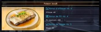 Final Fantasy XV poisson bouilli