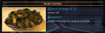 Final Fantasy XV moules marinières