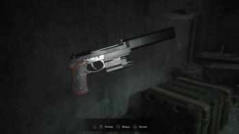 Resident Evil 7 pistolet albert-01R