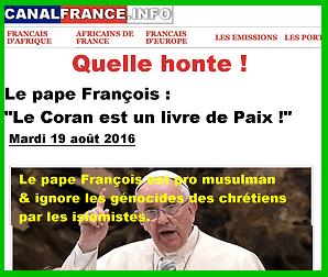 """Résultat de recherche d'images pour """"pape françois hérétique"""""""