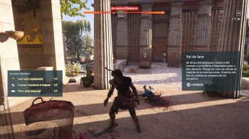Assassin's Creed Odyssey ostracon à énigme