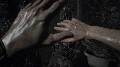 Resident Evil 7 la porte