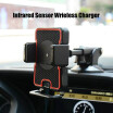 Dashboard Infrared Sensor Car Mount Air Vent Phone Holder For iPhoneX 8 For Samsung Note8 S9 S9 Plus Automatic clamping Phones