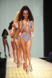 Alessandra Ambrosio at Koton Beachwear Show during Istanbul Fashion Week - Hot Celebs Home