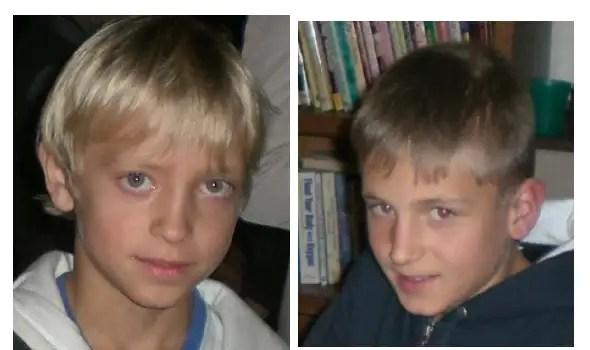 Frank & André Valette har inte hörts av sedan den 4 oktober 2008. Kidnappade och gömda av sin mamma.