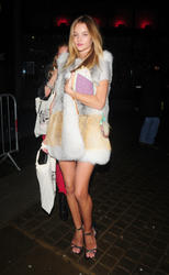 Rosie Huntington leggy as she attends Love Ball London at the Round House in London - Hot Celebs Home