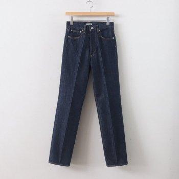 HARD TWIST DENIM 5P PANTS #INDIGO [A00P02DM] _ AURALEE | オーラリー