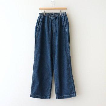 DENIM BAGGY PANTS #FADE INDIGO [GM211-40082B] _ Graphpaper   グラフペーパー
