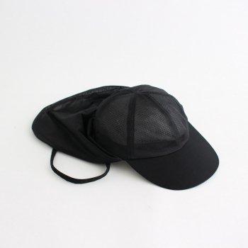 BLACK MESH SUNSHADE CAP #BLACK [NO.18693] _ COMESANDGOES   カムズアンドゴーズ