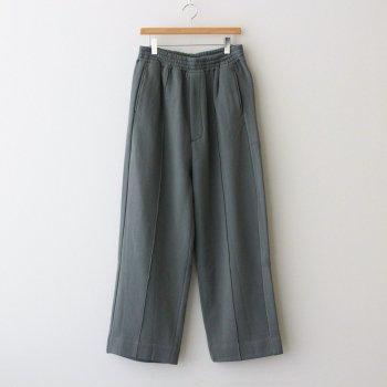 WIDE LEG LOUNGE PANTS #DUSTY GREEN [YK21AW0294P] _ YOKE | ヨーク