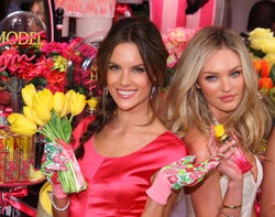 Alessandra Ambrosio - Victoria's Secret Beauty Heavenly Flowers Fragrance Launch in New York - Hot Celeb Home