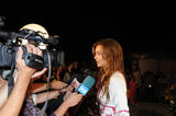 Miranda Kerr arrives at Gran Canaria Moda Calida in Las Palmas