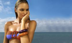 Candice Swanepoel in bikini and swimsuit for Zeki's 2010 summer catalog - Hot Celebs Home
