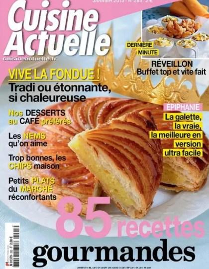 Cuisine Actuelle N°265 Janvier 2013