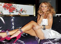 Tila Tequila arriving at Chinawhite Nightclub to hosts that night - Hot Celebs Home