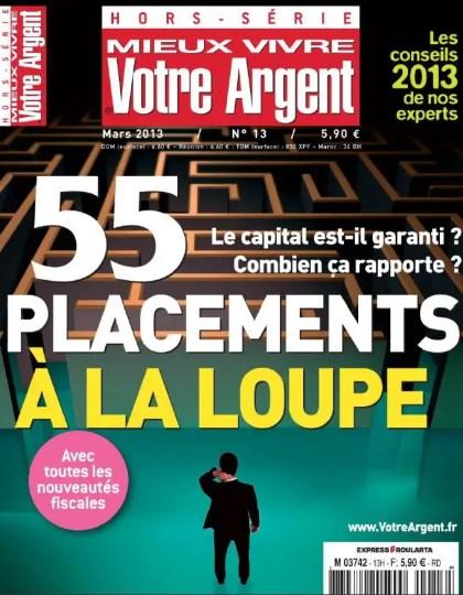 Mieux vivre votre argent Hors-série N°13 Mars 2013