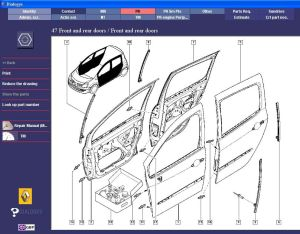 Renault workshop service repair manual  wiring diagram