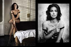 Adriana Lima Barely Dressed Vogue Spain June 2010 Editorial MQ - Hot Celebs Home