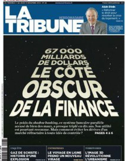 La Tribune Hebdomadaire N°28 du 7 Décembre 2012